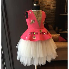 Shop Designer Birthday Dresses Gowns, Girls Party Dresses Online, Princess Dresses For Girls, Designer Lehenga For Kids At Matchless Price. Baby Girl Party Dresses, Dresses Kids Girl, Girl Outfits, Buy Gowns Online, Party Dresses Online, Kids Western Wear, Kids Dress Patterns, Kids Lehenga, Kids Gown