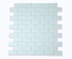Ice White Polished Glass Tile $14.50