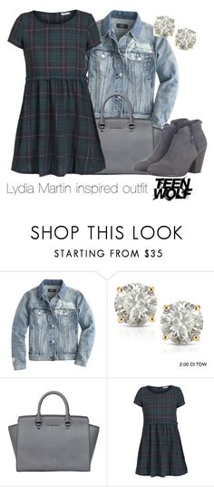 Lydia Martin inspired outfit/Teen Wolf by tvdsarahmichele on Polyvore featuring ONLY, J.Crew, rag & bone, MICHAEL Michael Kors and Auriya