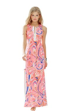 Penelope Maxi Dress - Lilly Pulitzer Multi Reef Retreat
