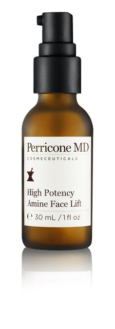 Perricone MD High Potency Amine Face Lift - A treatment that helps lift, tone and tighten the appearance of skin, visibly improving the contours of the face, while minimizing deep lines and wrinkles. 2 fl oz, $98