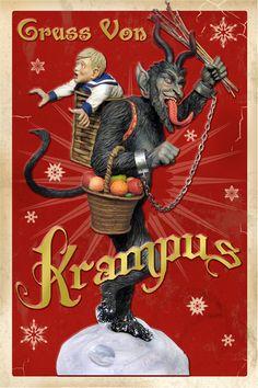 Krampus Sculpture by Tweeterhead
