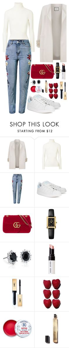 """""""Sin título #947"""" by mariananava ❤ liked on Polyvore featuring Max & Moi, JoosTricot, WithChic, adidas Originals, Gucci, Fendi, Blue Nile, Bobbi Brown Cosmetics, Yves Saint Laurent and Smith's"""