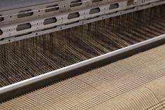 Dobby fabric in progress | Joshua Ellis & Co Ltd