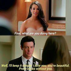Glee Moment Rachel & Finn
