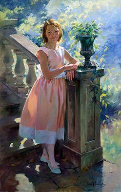 Eleanor by John Michael Carter Oil ~ 60 x 36