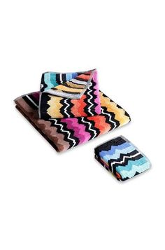 Shop Towels in the Missoni Online Store. Rachel Zoe Box, Missoni, Beach Towel, Stripes, Unisex, Accessories, Ebay, Towels, Logo