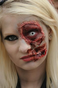 Pretty Zombie Makeup On Pinterest