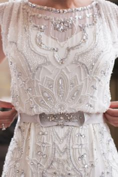 Love the beading detail......