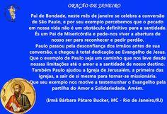 Agradecendo e Evangelizando: Oração de Janeiro