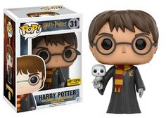 Funko Pop! Vinyl - Harry Potter - HARRY (with Hedwig) Exclusive to Hot Topic
