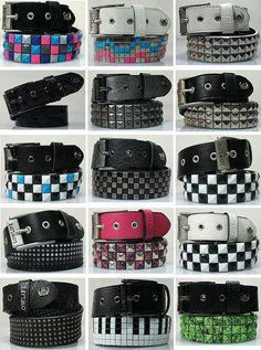 you can never have too many studded Belts