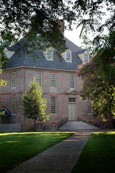 College of WIlliam and Mary in Williamsburg, Virginia