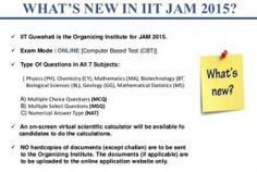 The process of admission form-filling for the qualified candidates of the Indian Institute of Technology Joint Admission to Master of Science 2015 (IIT JAM 2015) has started.   Candidates need to note that the last date for online admission form submission and payment is April 20, 2015, as per the website.   For IIT JAM 2015 online admission form s...
