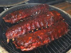 From Hillbilly Recipes on facebook:  First wash off your rack of ribs in water with a little apple cider vinegar and pat dry. Next on the back side of the ribs there is a very thin membrane that needs to be pulled off. Start in the corner with a fork just under the membrane and pull it off. Easier if you use a paper towel and grab it and pull. When youre using rib rub you want all of the flavors to get through all the way from front to back. Next slather on generously some mustard all over…