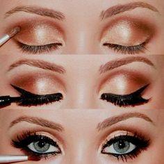another gold makeup