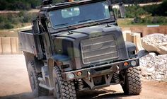 Oshkosh Terramax - project for military truck without driver inside