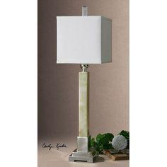 Uttermost Kemonte Green Marble Buffet Lamp 29924-1