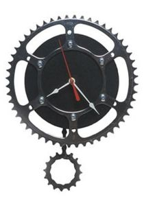 Recycled Rubber Clock