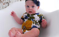 Free sewing Pattern Baby Onesie