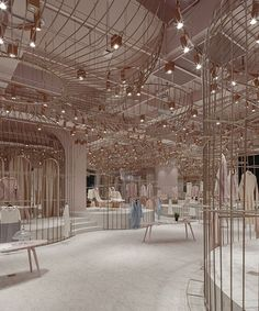 X+living's fashion concept features four contrasting aesthetic identities