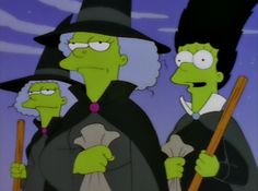 The Simpson Treehouse of Horror Witches