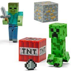 Minecraft 3″ Figures $14.99