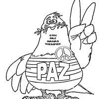 Paloma Paz Bn2 Jpg Peace Coloring Books Coloring Pages