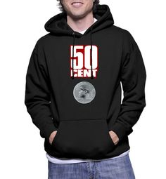 50 Cent Logo Hoodie Sweatshirts - Hottess