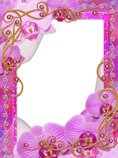 frame Charm of Orchids PNG by Melissa-tm on DeviantArt