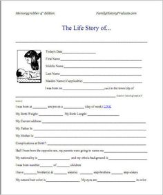Autobiography Example | layouts | Pinterest | Writing ideas, School ...