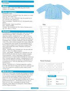 El mundo del crochet.: CHAMBRITA AZUL