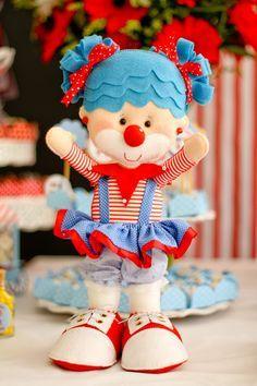 Festa Circo: feltrices, costuras e muito amor!