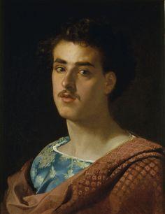 Fortuny Self-Portrait (c. 1858); Museu Nacional d'Art de Catalunya