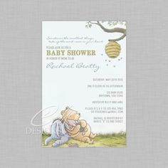 Baby shower invitation / thank you's
