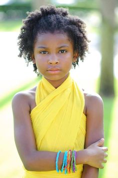 She's beautiful! To learn how to grow your hair longer click here - blackhair.cc/1jSY2ux