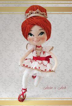 Ballerina Amigurumi Doll for sale in Lala's Lab