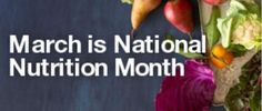 March is Natural Nutrition Month! Learn some healthy, natural nutrition tips from this blog: naturalhealthsolutionz.com