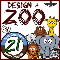 If your Geometry class feels like a Zoo, then maybe you ought to join them! In this integrated geometry project, students will put their area and perimeter skills to the test! Focusing on unique shapes, regular polygons & apothems and irregular figures, students determine which exhibits fit which animals needs.