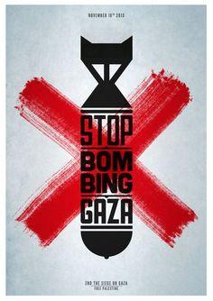 stop bombing Gaza! no more war.