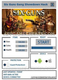 Six Guns Gang Showdown Free Stars, Coins, and Health Hack & Cheats - http://appgamecheats.com/six-guns-gang-showdown-free-stars-coins-and-health-hack-cheats/
