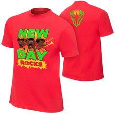 13c4723c733d1 NIB Authentic WWE the New Day Rocks SE Tee Dudley Boyz Tees Shirt L XL 2X