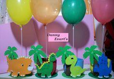 centros de mesa de dinosaurios - Buscar con Google