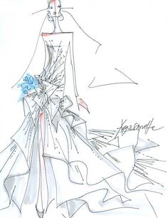 The sleeves plus the slit less the blue flower! angelina-jolie by angel-sanchez-wedding-dress