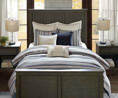 Coastal Farmhouse Comforter Queen Size 2