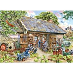 Make And Mend Jigsaw Puzzle from Jigsaw Puzzles Direct - Order today and Get Free Delivery