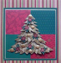Cartão de Natal - Criado e produzido pelo Ateliê do Vlady (variação do cartão Merry Xmas)