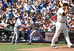 Los Angeles Dodgers vs. San Francisco Giants - Photos - July 28, 2012 - ESPN