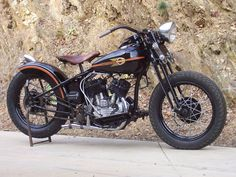 1938 Harley-Davidson WL45 Flathead.