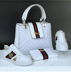 Hello,Today we bring to you 'Cooperate Handbags and Footwear's'. These Handbags and footwear are the Prada Handbags, Fashion Handbags, Purses And Handbags, Fashion Bags, Gucci Sneakers, Gucci Shoes, Shoes Sneakers, Casual Mode, Gucci Fashion